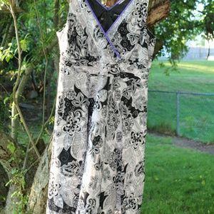 Plus Ssze 20. Sleeveless long dress.